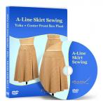 A-Line Skirt Sewing - Video Lesson on DVD