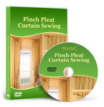 Pinch Pleat Curtain Sewing Video Lesson on DVD