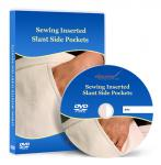 Sewing Inserted Slant Side Pockets Video Lesson for Pants and Skirts on DVD
